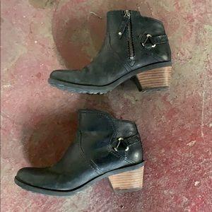 Teva Foxy Black waterproof  Ankle Booties